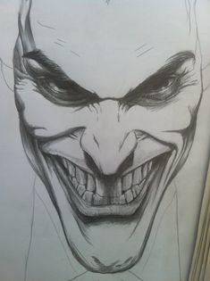 Kết quả hình ảnh cho Joker face Sketches