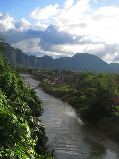 Vang Vieng, Laos- one of the most beautiful places I've ever been and one of the craziest weeks of my life