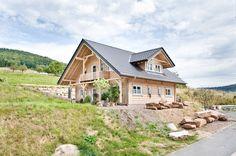 Honka Einfamilienhaus Modell Peak Aussenansicht