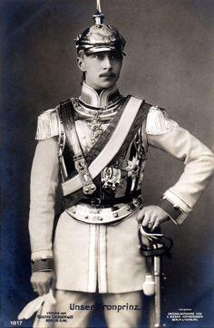 Friedrich Wilhelm Viktor August Ernst von Hohenzollern, Kronprinz von Preussen by  Unknown Artist.