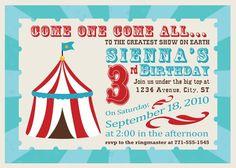 Carnival Invite