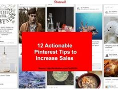12 actionable Pinterest Tips to Increase Sales