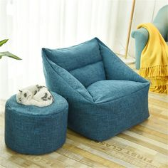 Waterproof Beanbag Chair Lazy Sofa Indoor Seat Chair Cover Lazybag Puff Sofas Large Bean Bag Cover Armchair Washable Cozy Game - Peaceloversart by Miranda Large Bean Bag Chairs, Large Bean Bags, Sofa Seats, Sofa Chair, Beanbag Chair, Chair Cushions, Swivel Chair, Sofa Bed, Dining Chair