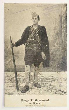 Vlada Milanovic - Chetnik WWI