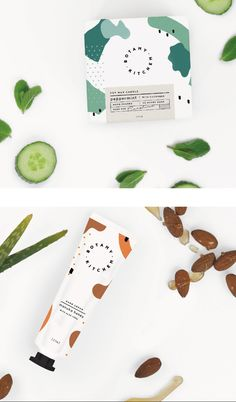 Packaging Designs for Botany Kitchen by Laura Evans Said+Seen