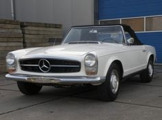 1964 Mercedes-Benz, 230SL  Mercedes-Benz 230 SL Pagode 1964 project car  This is a 1964 Mercedes-Benz 230SL. This white convertible needs to be completely restored. The car has blue leatherette interior and has a black softtop. The engine runs. The 230SL Pagode is a classic car with a lot of potential.  For more photo's, information and appointment, visit our website www.sunclassiccars.nl or s ..  http://www.collectioncar.com/detailed.php?ad=65933&category_id=1