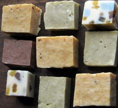 "Hot Process - Quick Cure Soap Recipes and Techniques. One is ""Home Made Soap in Roasting Pan."""