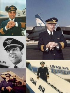 1970s iranian pilots for Iran Air....hmmm I don't feel like he's going to blow the plane up. I would fly :)