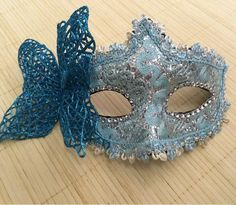 3pcs/lot 2015 New Halloween Masquerade Masks Fancy Venetian Woman Mask Bauble With Rhinestone Lace Half Face Stage Prop
