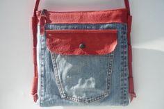 Spijkerbroek tas | LOST & FOUND tassen | OSCI Tassen