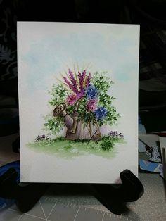 art impressions - watercolor marker