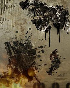 Generative art piece by James Whíte, via Flickr