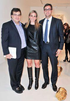 Jorge Arce, Claudia Gonz�lez, y Juan Escutia