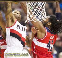 NBA Roundup- Feb. 12 - Tonight's showdown between the Portland Trail Blazers