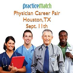 Houston Resident & Fellow Physician Career Fair 9/11 at the Houston Marriott at the Texas Medical Center. Info and to register: