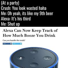 Reposting @thetechshow_official: When AI screws you over. . #tech #technology #smartphone #android #iphone #ios #iphonex #amazon #alexa #amazonecho #ai #beer #party #crush #news #lol #lmao #troll #memes #meme #jokes #hightech #electronics #electronic #gadget #gadgets #instatech #TagsForLikes