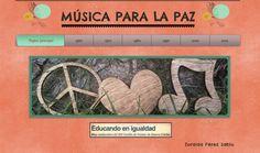 Wix: Música para la Paz | Educando en igualdad
