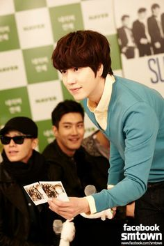 LINE star chatting with Super Junior _ Kyuhyun