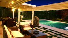 The Sunlux Retractable Pergola Awning Has Optional Integrated Lighting And Gutter It Can Also Be Fitted With Screens