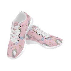 #TeeAmazing - #e-joyer Unicorn Pattern V2 White Sneakers for Men - AdoreWe.com