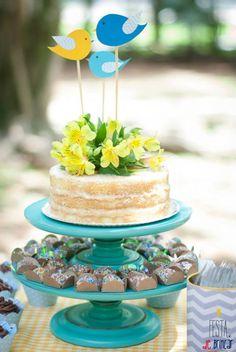 Ideas Birthday Decorations Cake Toppers For 2019 Birthday Party Snacks, Garden Theme Birthday, Picnic Birthday, Cool Birthday Cakes, Bolos Naked Cake, Naked Cakes, Bolo Frozen, Bolo Picnic, Torta Candy