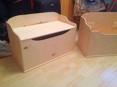 Детская ручной работы. Ярмарка Мастеров - ручная работа. Купить Сундук для игрушек под декупаж и покраску. Handmade. Сундук деревянный