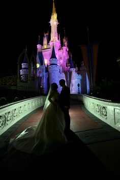 A Walt Disney World Wedding in Orlando, Florida could be the perfect venue for your fairytale wedding come true. #Florida Wedding Venues #Florida Bride #Cinderella Wedding