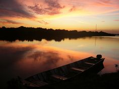 Pantanal sunset by A traveller's photo blog, via Flickr