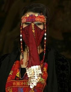 Palestinian traditional headdress