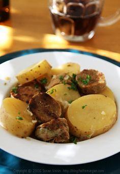 More St.Patricks Day inspiration: Dublin Coddle with Vegan Irish Sausage