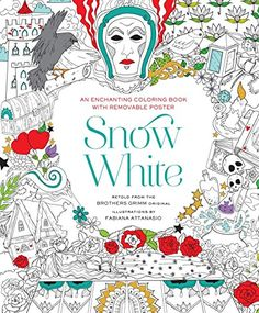 Snow White Coloring Book By Fabiana Attanasio Amazon