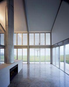 Hay Barn - Ian Moore Interior View #interiordesign #modern #minimalist