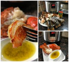 I made these Lobster Tails steamed in my Pressure Cooker from frozen lobsters I purchased from Costco! These lobster tails came out perfectly tender and steamed to perfection!! Just a little seasoning and the right settings and you have a WINNER for dinner!
