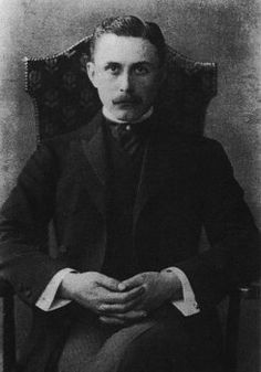 Austrian architect Adolf Loos, 1903