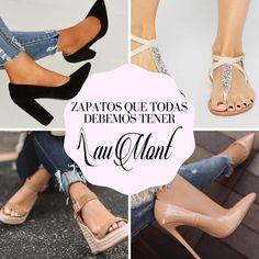 Los zapatos jamás son suficientes para una mujer!! Aunque tenga 15 pares, una mujer siempre verá zapatos nuevos y querrá comprárselos!!! 😍🤤 ¿Cómo decirle que no a unos hermosos zapatos? Para ayudarte a organizar tu closet y decidir realmente si unos zapatos son necesarios, existe una guía básica de calzado que toda mujer debe tener. Ten por seguro que con estos zapatos podrás salir victoriosa de cada evento que tengas. Ten, Stiletto Heels, Shoes, Fashion, Going Out, Footwear, Organize, Totes, Women