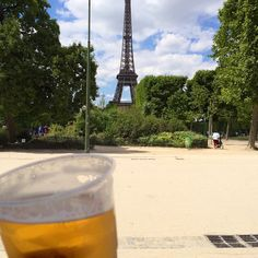 Beer with a view - Paris