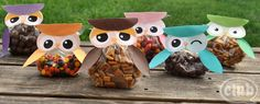 FREE OWL TREAT BAGS PRINTABLES