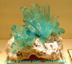 "Aquamarine Large Cluster Minerals, Gem Stones: From the Land of Summayar ""ChumarBakur"" Nagar Valley, Gilgit-Pakistan Welcome to Sumayar Nagar valley Gilgit Pakista..  Amazing Geologist"