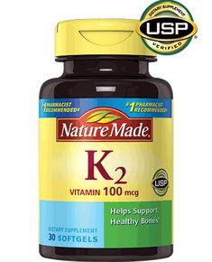 Nature Made Vitamin K2 100 mcg Liquid Softgels