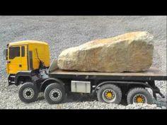 R/C Bulldozer Liebherr 741M.A.N 8x8 with Hydraulic steeringbig R/C Action !!Family Fun - YouTube