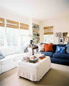 perfect family room   # Lonny  Mag.