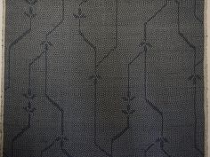 Indigo Asanoha Vintage Japanese tsumugi silk by CosimaOrimono