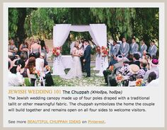 #WeddingProfs: Want to brush up on your #Jewishwedding knowledge? Here to help with this fun new project: http://eepurl.com/bgzt7v?utm_content=buffer5dab1&utm_medium=social&utm_source=pinterest.com&utm_campaign=buffer