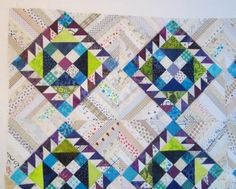 Cathy Tomm Quilts: I LOVE Cathy's color choices for her RRCB blocks!  It's going to be stunning!
