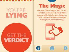 You're Lying App Overhaul