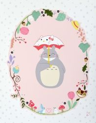 Totoro Print - Unicorn Crafts