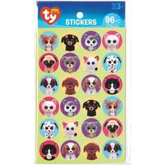 Beanie Boos Pet Stickers 96/Pkg