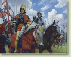Richard III at the Battle of Bosworth by Graham Turner.