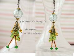 Bambola In the woods by Colectia de margele  Please visit https://www.facebook.com/pages/Colectia-de-margele/1392796917646011