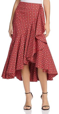 Petersyn Vanessa Ruffle Skirt Vintage Fashion & Bohemian S Fashion Design Inspiration, Fashion Design Sketches, Fashion Ideas, Fashion 60s, Fashion Dresses, Fashion Vintage, Style Fashion, Fashion Women, Fashion Sewing